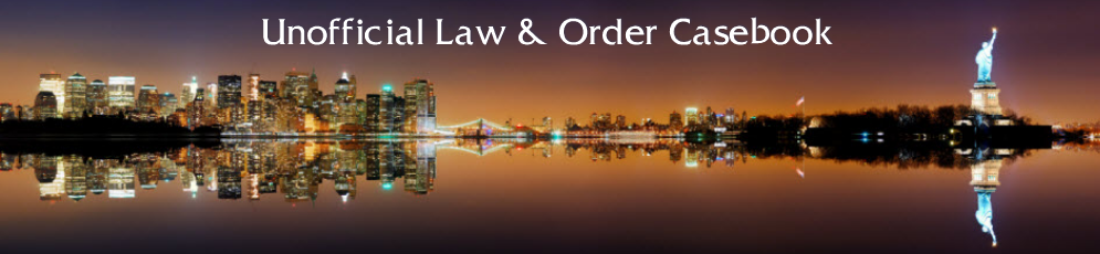 Unofficial Law & Order Casebook
